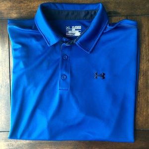 Under Armour Heat Gear Loose Fit Polo